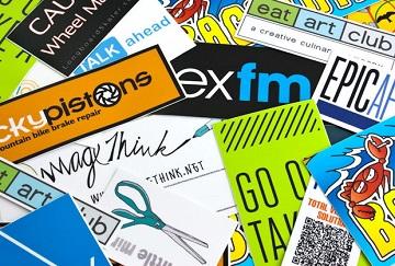 Sticker baskı serigrafi baskı